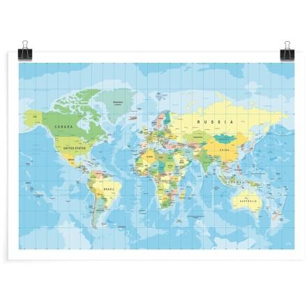 Χάρτης όλου του κόσμου