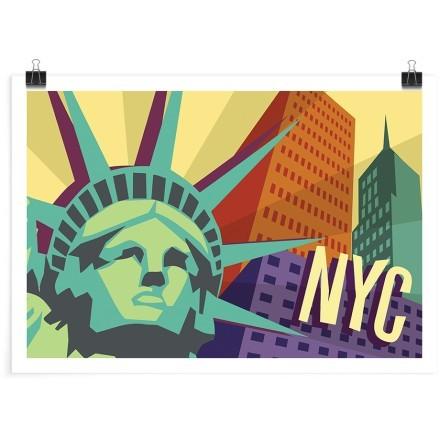 Πολύχρωμη Νέα Υόρκη