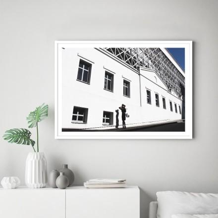 Λευκός τοίχος κτιρίου