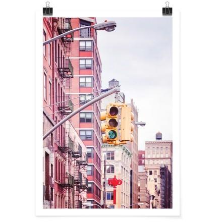 Κίτρινο φανάρι στη Νέα Υόρκη