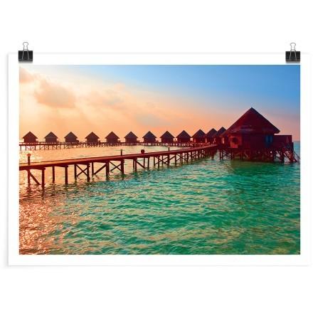Σπιτάκια στις Μαλδίβες
