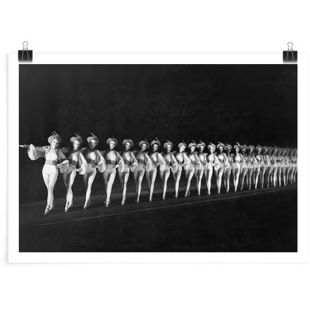 Χορεύτριες στη σειρά