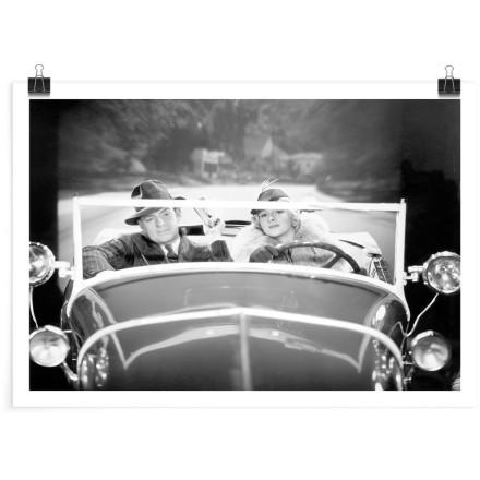 Ζευγάρι στο αμάξι
