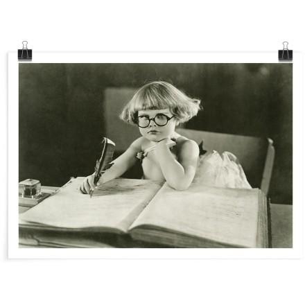 Διαβασμένο κοριτσάκι