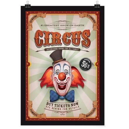 Κλόουν στο τσίρκο