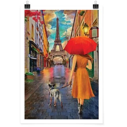 Βόλτα με το σκύλο στο Παρίσι