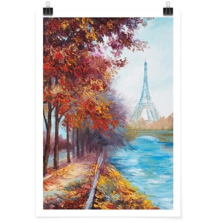 Φθινοπωρινό τοπίο στο Παρίσι