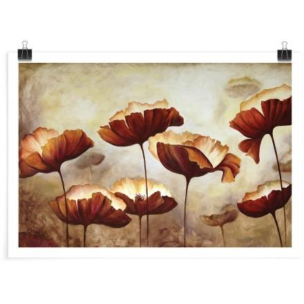 Ρετρό εικόνα με λουλούδια