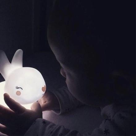 Rabbit Επιτραπέζιο Φωτιστικό Νύχτας 12x8x12cm
