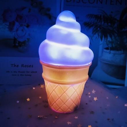 Ice Cream Επιτραπέζιο Φωτιστικό Νύχτας 8x15cm
