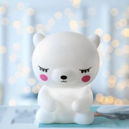 Little Bear Επιτραπέζιο Φωτιστικό Νύχτας 9x7x12cm