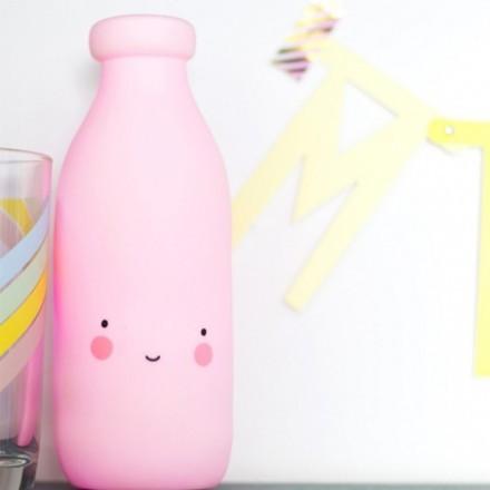 Milk Επιτραπέζιο Φωτιστικό Νύχτας 6x18cm