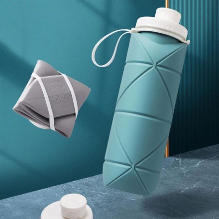 Facile Πτυσσόμενο Μπουκάλι Νερού 600ml 7x24,5cm
