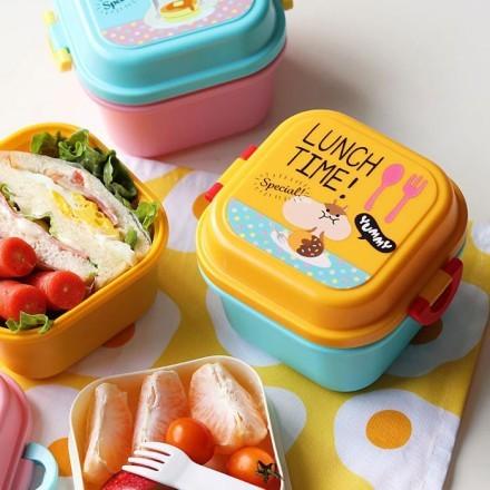 Kiddo Δοχείο Φαγητού Πλαστικό 720ml 14x12,3x12,3cm