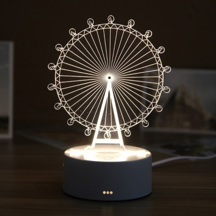 Wheel Επιτραπέζιο Φωτιστικό 20x17,5cm