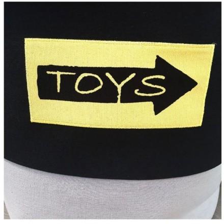 Toys Σάκος Αποθήκευσης Παιχνιδιών 40x33x40cm
