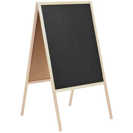 Blackboard Μαυροπίνακας Κιμωλίας Διπλής Όψης 52x90cm
