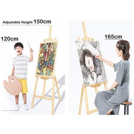 Chevalet Ξύλινο Καβαλέτο Για Πίνακες Y1,5m