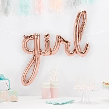 Girl Μπαλόνι Γράμματα Κορίτσι