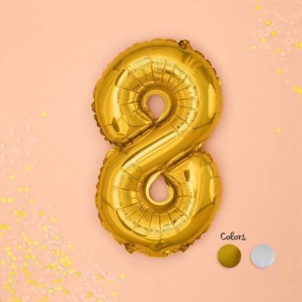 Numbers Μπαλόνι Αριθμός Νο8