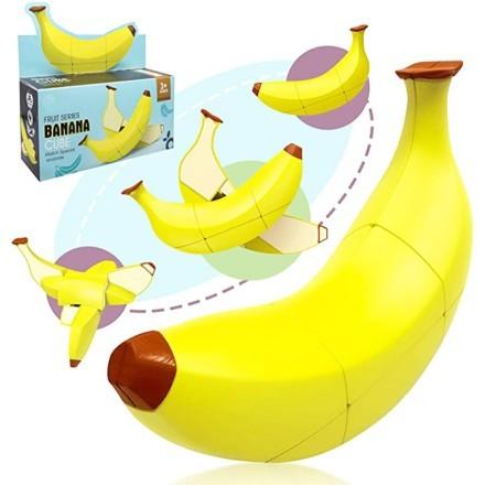 Rubik Κύβος Σε Σχήμα Μπανάνα 16,5x16,5x4,5cm
