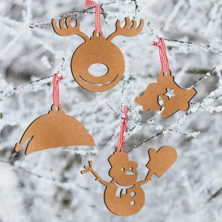 Χριστουγεννιάτικα Κλασικά Στολίδια