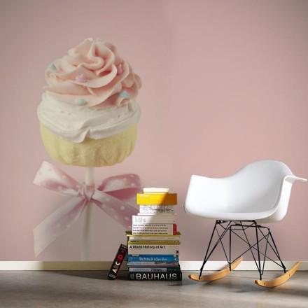 Ροζ cupcake