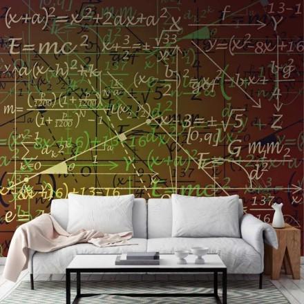 Φόντο με μαθηματικές εξισώσεις