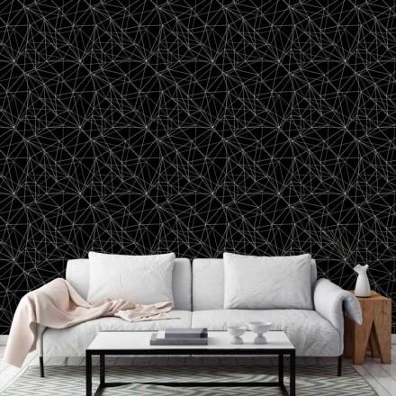 Μοντέρνο μοτίβο άσπρο μαύρο