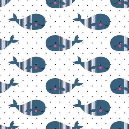 Μοτίβο με φάλαινες