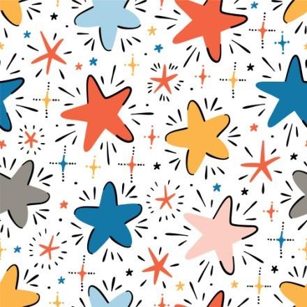 Μοτίβο με αστεράκια