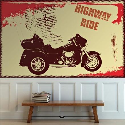 Μοτοσικλέτα highway ride