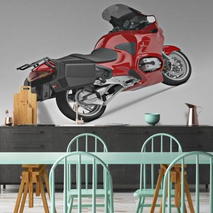 Απόδοση 3D μιας μοτοσικλέτας