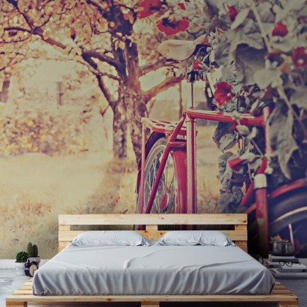 Ποδήλατο με λουλούδια