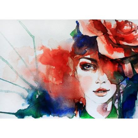 Ζωγραφιά Κοπέλας