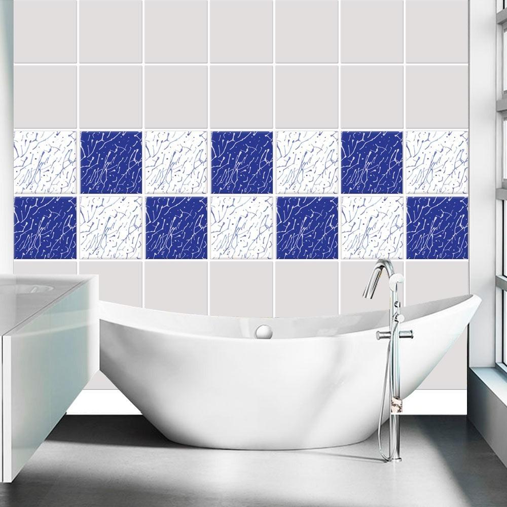 Μοντέρνο Μοτίβο μπλε  (8 τεμάχια)