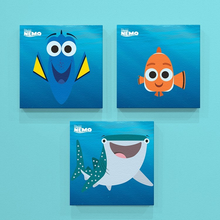Dory, Nemo and Destiny!