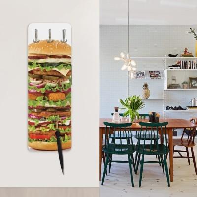 King size burger, Φαγητό, Κρεμάστρες & Καλόγεροι