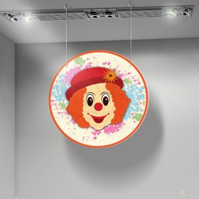 Clown, Αποκριάτικα, Καρτολίνες κρεμαστές