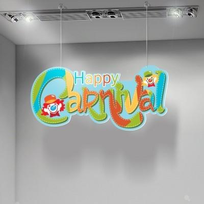 Happy Carnival, Αποκριάτικα, Καρτολίνες κρεμαστές