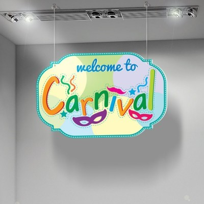 Welcome  Carnival, Αποκριάτικα, Καρτολίνες κρεμαστές