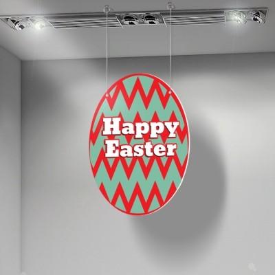 Happy Easter egg, Πασχαλινά, Καρτολίνες κρεμαστές