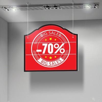 Big Sales -70%, Εκπτώσεις, Καρτολίνες κρεμαστές