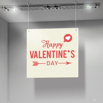 Happy Valentines Day Arrow, Αγίου Βαλεντίνου, Καρτολίνες κρεμαστές