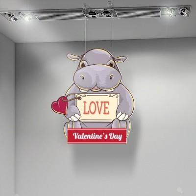 Valentine Day Hippo, Αγίου Βαλεντίνου, Καρτολίνες κρεμαστές