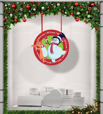 Happy Snowman, Χριστουγεννιάτικα, Καρτολίνες κρεμαστές