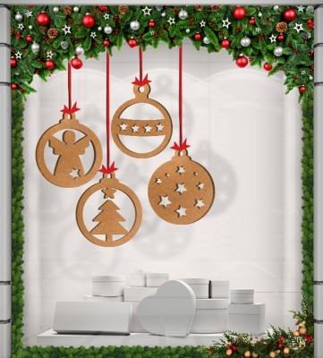 Χριστουγεννιάτικα Σχέδια, Ξύλινες Καρτολίνες, Καρτολίνες κρεμαστές