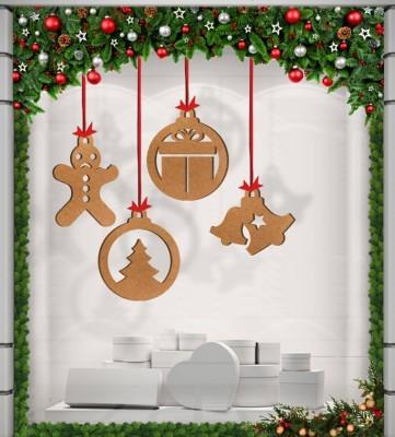 Χριστουγεννιάτικα Στολίδια, Ξύλινες Καρτολίνες, Καρτολίνες κρεμαστές