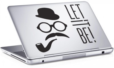 Let it be!, Sticker, Αυτοκόλλητα Laptop