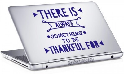 Thankful, Sticker, Αυτοκόλλητα Laptop